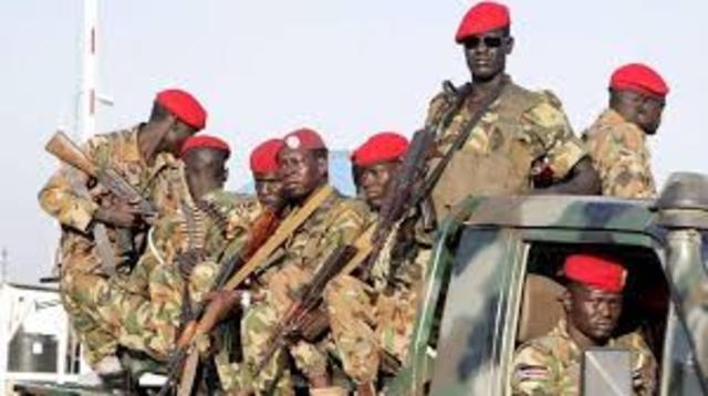 GUERRA CIVIL SUDANESA