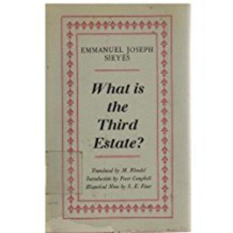Pubblicazione di Che cos'è il terzo Stato? di Sieyès