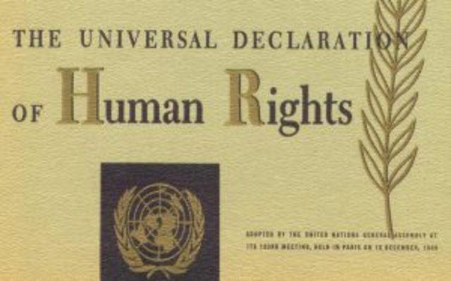 Approvazione della Dichiarazione dei Diritti dell'Uomo e del Cittadino