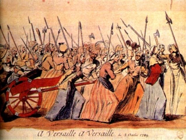 Manifestazione su Versailles