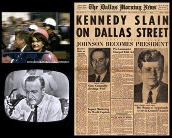 JFK - a president assassinated (1963)