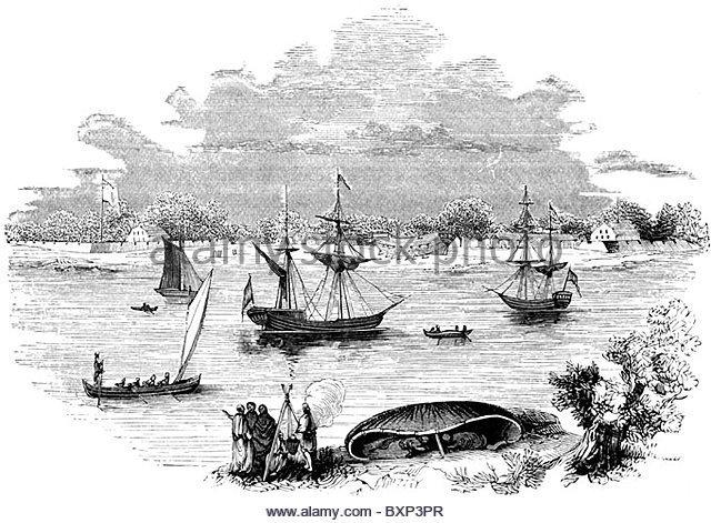 viajes en los años 1580