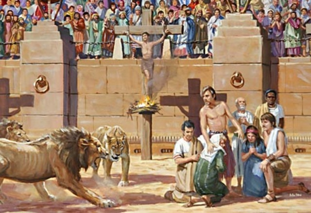 El Cristianimo en el mediterraneo
