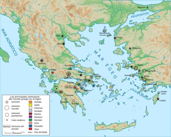 Comercio en el mar Egeo