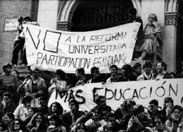 Huelga UNAM.