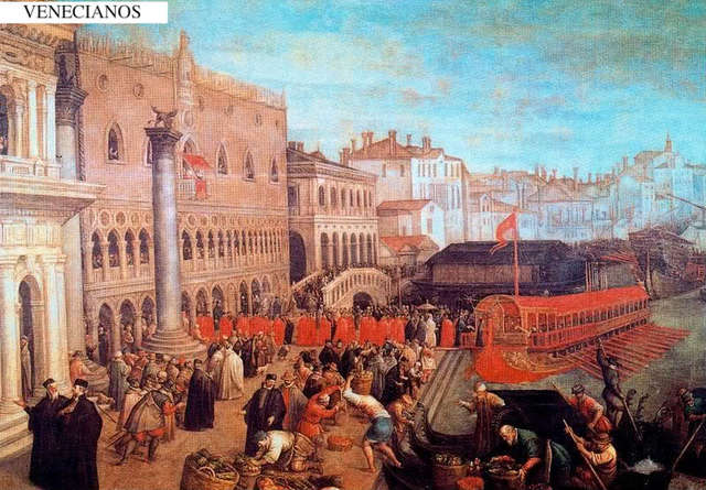 Venecia y el imperio Bizantino