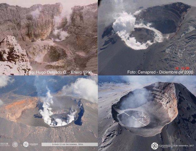 Despertar del Popocatépetl.