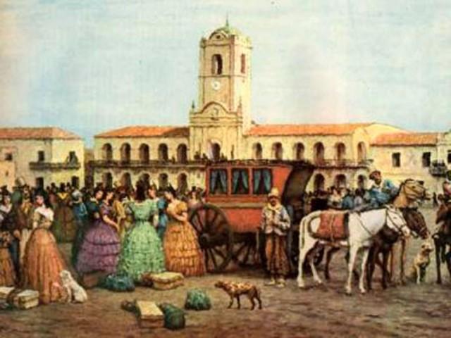 Etapa colonial: 1810-1830