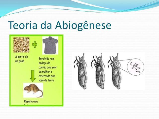 teoria abiogêneses