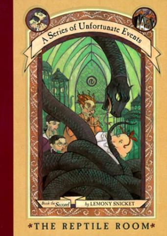 """Avaldati raamat """"The Reptile Room"""""""