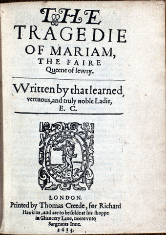 The Tragedy of Mariam Published