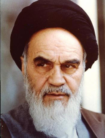 Assuming office (Ayatollah Khomeini returning