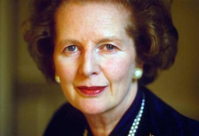 Margaret Thatcher, becoming the first woman Prime Minister of Great Britain