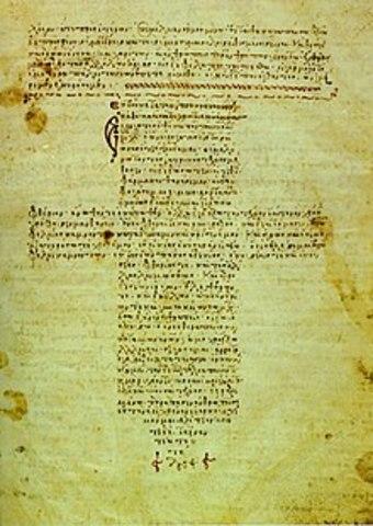 Hipócrates escribe los Tratados hipocráticos y crea el juramento hipocrático