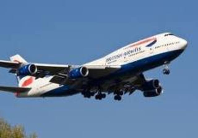 The first Boeing 747-4000 flies.