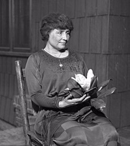 Helen Keller is Born