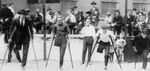 Law Passed to Fund Rehabilitation of Disabled WWI Vets