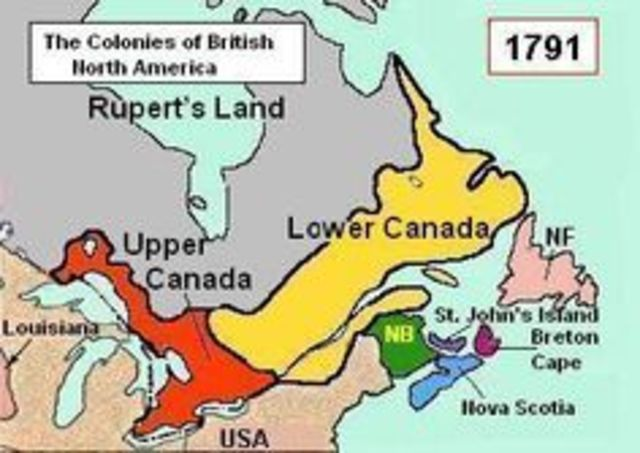 Canadá se divide