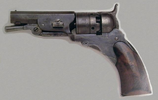 Colt Pocket Model Paterson Revolver No. 1 (Perkussion)