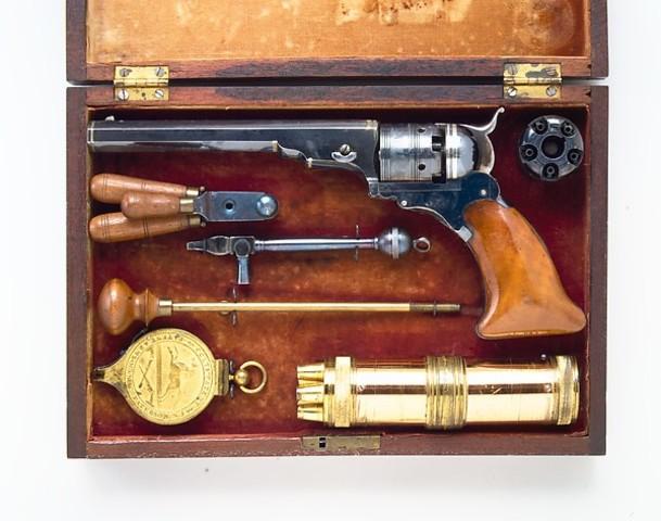 Colt Belt Model Paterson Revolver No. 3 (Perkussion)