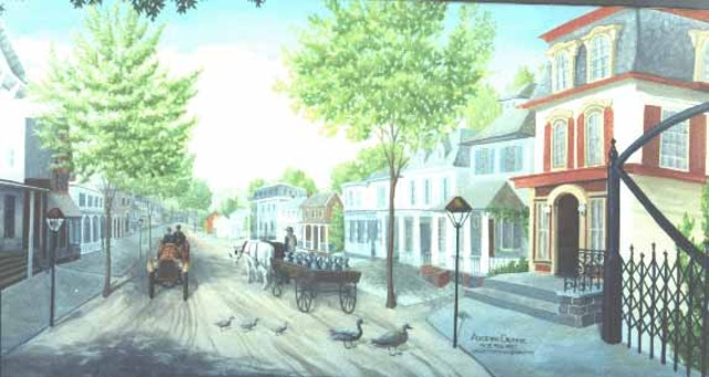 Milford Borough was set apart from Holland Township