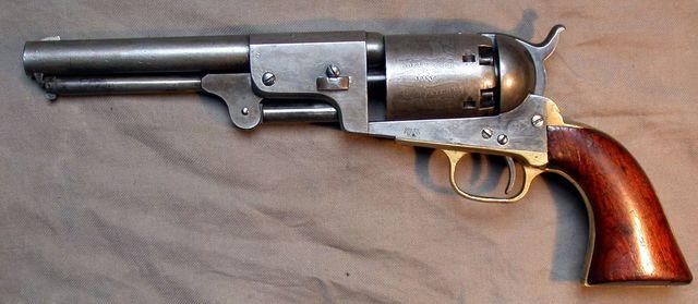 Colt Dragoon von 1848 (Perkussion)