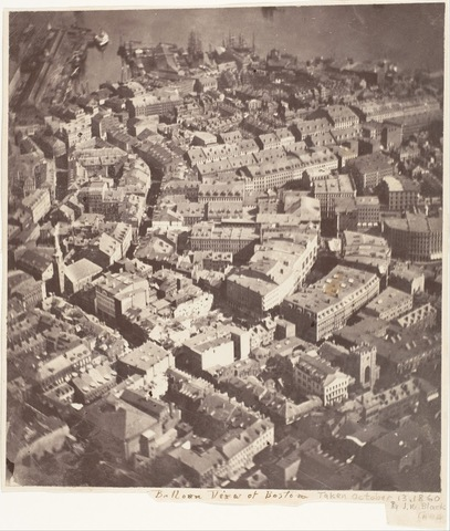 Primera fotografía aérea