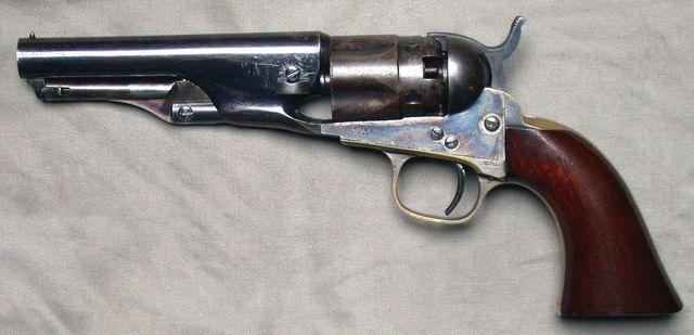 Police Modell von 1862 (Perkussion)