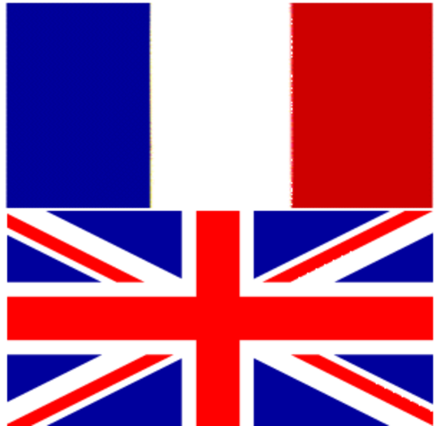 Seven Years' War Peace Treaty between Great Britain and France.