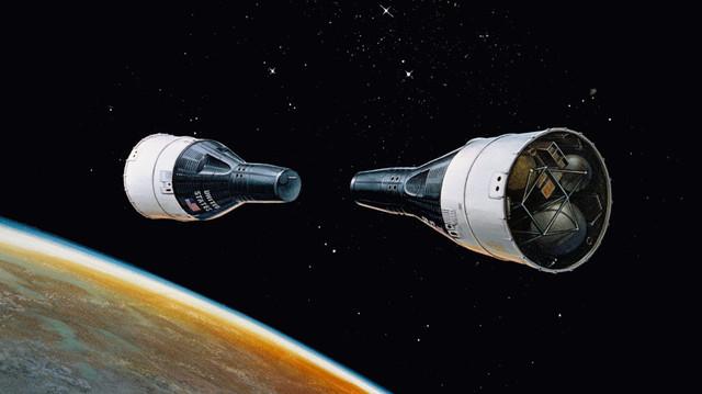 2 Spacecraft rendezvous in space