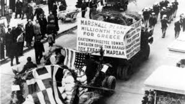 Programa Greco – Turco, Plan Marshall