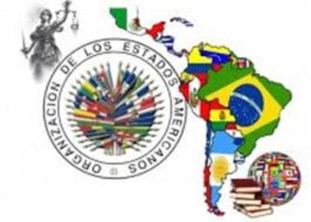 Se crea la Organización de los Estados Americanos (OEA)