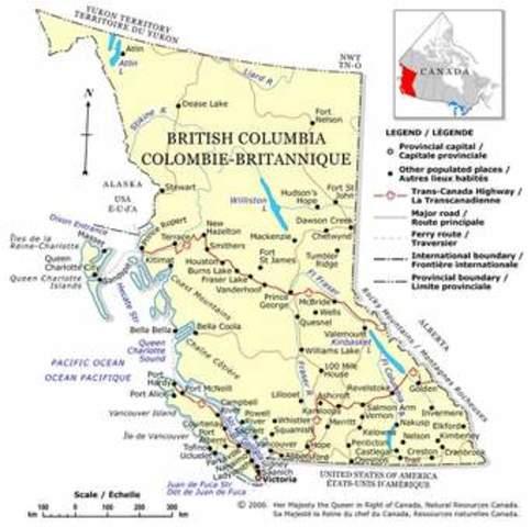 British Columbia se une a Canadá