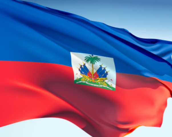 Slave rebellion in Saint Domingue (Haiti)