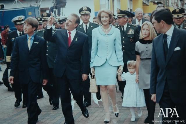 Posesión presidencial de Andres Pastrana