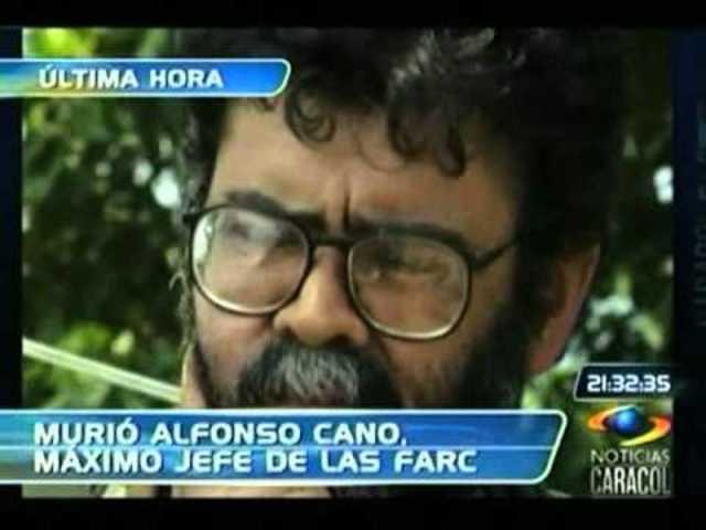 Alfonso Cano es abatido