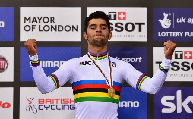 Fernando Gaviria ganador de Ciclismo