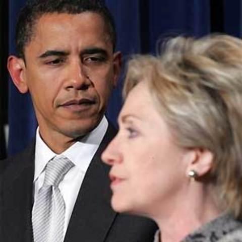 Empate entre Clinton y Obama
