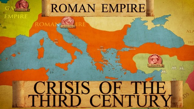 THE CRISIS OF THE FALL OF THE EMPIRE.