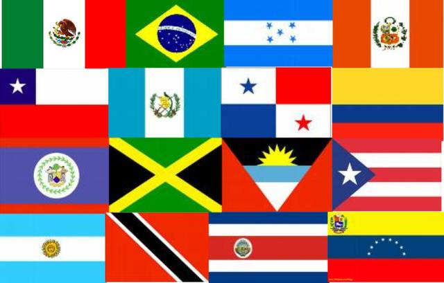 Declarations of self-government in most Latin American colonie