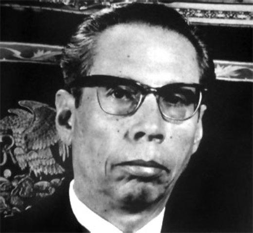 Fue elegido presidente Gustavo Diaz Ordaz