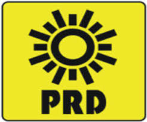 Se funda el Partido de la Revolución Democrática (PRD).