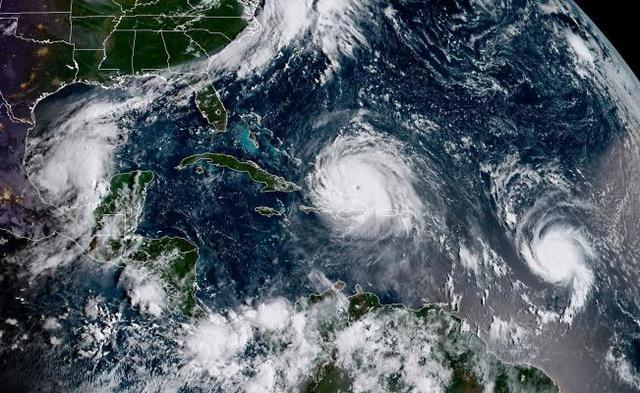 El huracán Caroline impacta la costa de Tamaulipas