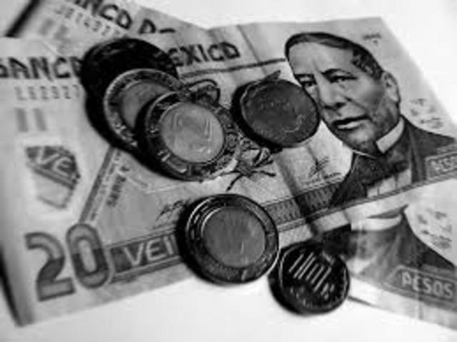 Entra en vigor aumento al salario mínimo del 3.9%, consistente en 2 pesos con 40 centavos