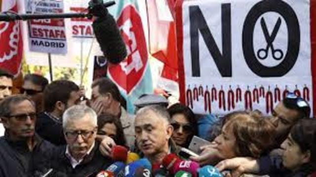 Protestas en varias ciudades del país con motivo del día del trabajo