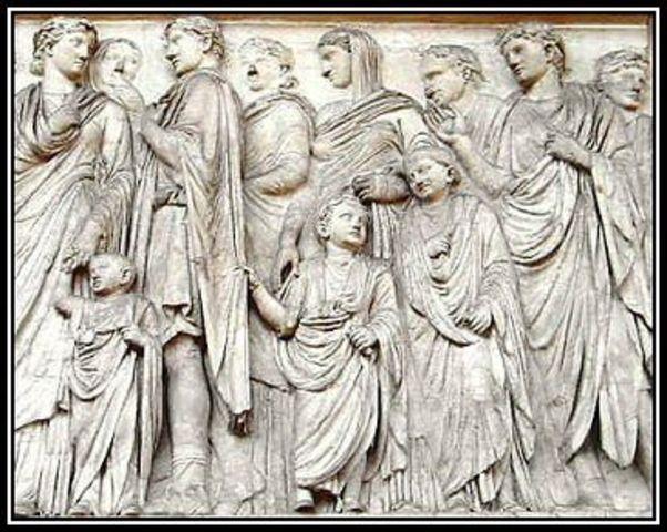 MODEL OF THE ROMAN FAMILY.