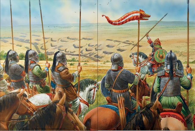 ARRIVAL OF THE VISIGOTHS.