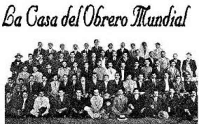 MEXICO. ASOCIACION PROFESIONAL, CIRCULO DE OBREROS. Fotografía recuperada de: https://www.timetoast.com/timelines/antecedentes-del-derecho-colectivo-del-trabajo-d18952c2-c9bc-4943-9420-3dc805407dc4