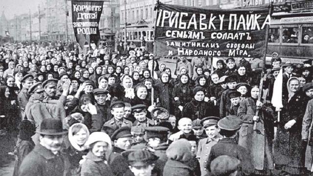 RUSIA. PRIMER ESTADO OBRERO DE LA HISTORIA. Fotografía recuperada de: https://www.cronica.com.ar/mundo/El-dia-que-Rusia-cambio-la-historia-20171025-0016.html