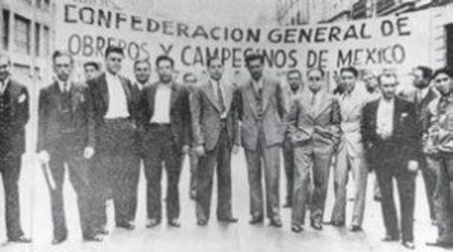 MEXICO. CONFEDERACION GENERAL DE OBREROS Y CAMPESINOS DE MEXICO (CGOCM). Fotografía recuperada de: http://ctmoficial.org/?page_id=504